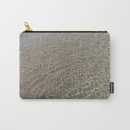 Eastern Beach Print | Geelong Australia | Ripples in the Water Carry-All Pouch