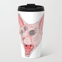 Freaky Kitty v.2 Travel Mug