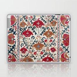 Bokhara Nim Suzani  Southwest Uzbekistan Embroidery Print Laptop & iPad Skin