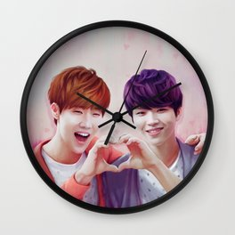 Woogyu Valentine Wall Clock