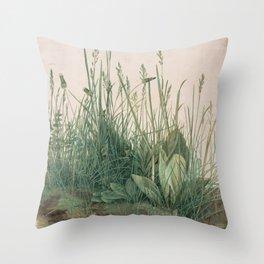 Albrecht Durer - The Large Piece of Turf Throw Pillow