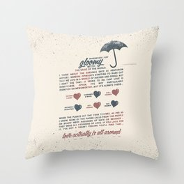 Love Actually Throw Pillow