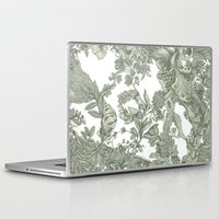 leaf Laptop & iPad Skins featuring Leaf  by Maethawee Chiraphong