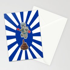 Poo jumping Stationery Cards