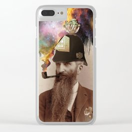 Odd Fellow Clear iPhone Case
