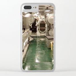 USS Drum submarine Clear iPhone Case