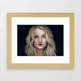 Evanna Love Framed Art Print