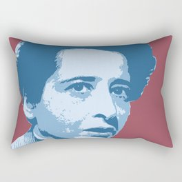 Hannah Arendt Rectangular Pillow