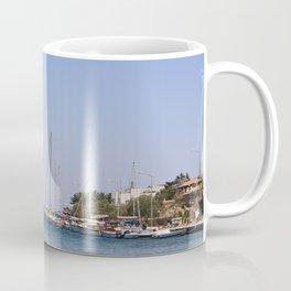 Boats at Datca Coffee Mug