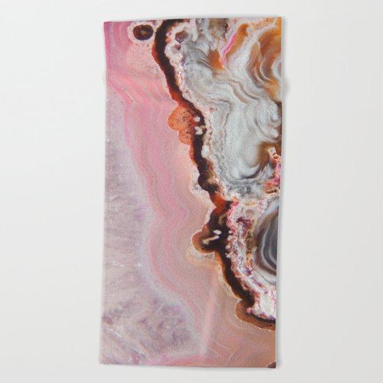 Spring Agate Beach Towel