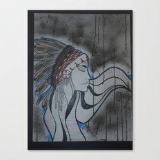 Indian. Canvas Print