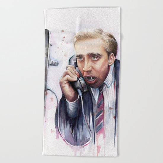 Nicolas Cage Beach Towel