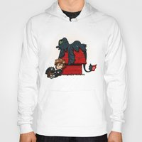 peanuts Hoodies featuring Dragon Peanuts 2 by le.duc