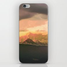 Escaping  -  Mountains - Dachstein, Austria iPhone & iPod Skin