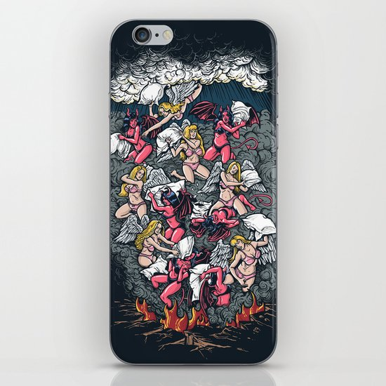 good vs evil  iPhone & iPod Skin