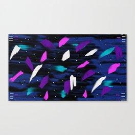 Space Unicorns Canvas Print