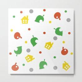 Animal Crossing Metal Print