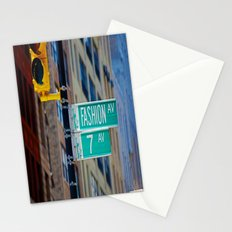 Fashion Avenue  Stationery Cards