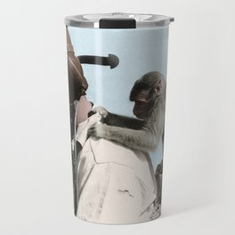 Colourised: North African Campaign Travel Mug