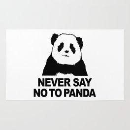 Never Say No To Panda Rug