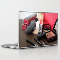 make up Laptop & iPad Skins featuring Make-Up by Tanya Thomas