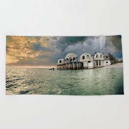 Cape Romano Beach Towel