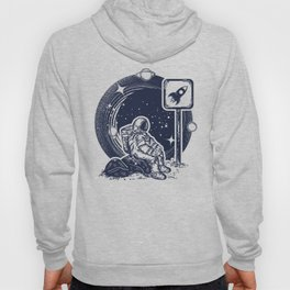 Astronaut in space Hoody
