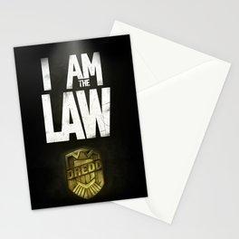 I Am the Law - Judge Dredd Stationery Cards