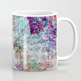 Technicolour Cherry Blossom Coffee Mug