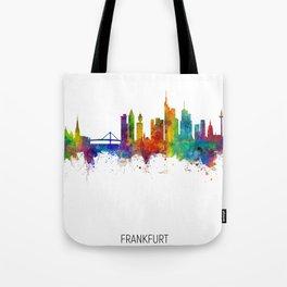 Frankfurt Germany Skyline Tote Bag