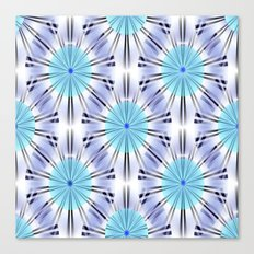 Blue Spheres Canvas Print