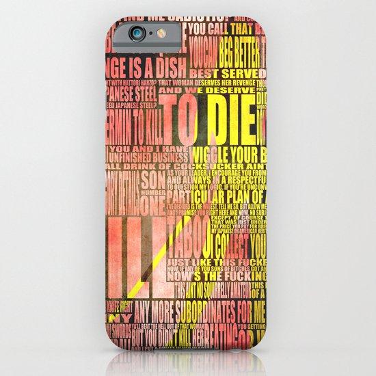 Kill Bill redux iPhone & iPod Case