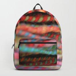 Handspun Yarn Color Pattern by robayre Backpack