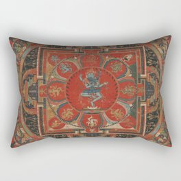 Hevajra Mandala Rectangular Pillow
