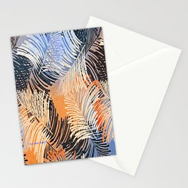 Palm Leaves By Annie Zeno Stationery Cards