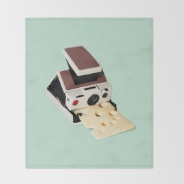 SAY CHEESE Throw Blanket