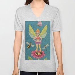 Fierce Fairy Unisex V-Neck
