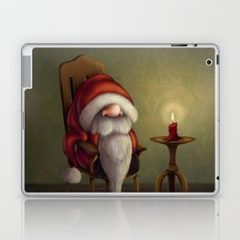 New edit: Little Santa in his rocking chair Laptop & iPad Skin
