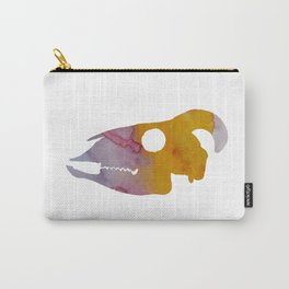 Goat Skull Art Carry-All Pouch