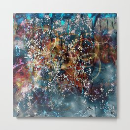 Rising Touch Metal Print