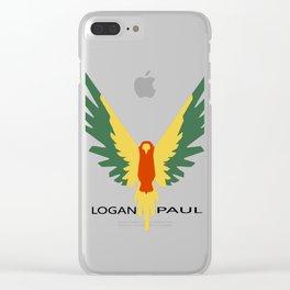 Maverick Birds Flying Clear iPhone Case
