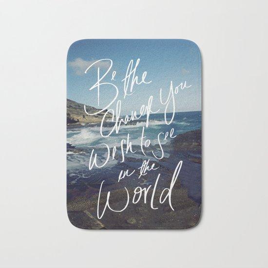 Be the Change Bath Mat