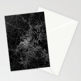 nashville map Stationery Cards