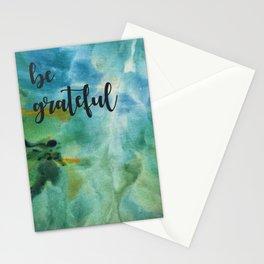 Be Grateful Stationery Cards