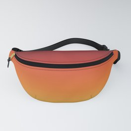 Fall Abstract Autumn Gradient Pattern Fanny Pack