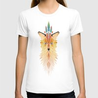 spirit T-shirts featuring fox spirit  by Manoou