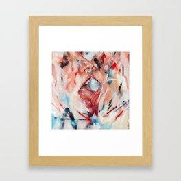 babas, flesh and love Framed Art Print