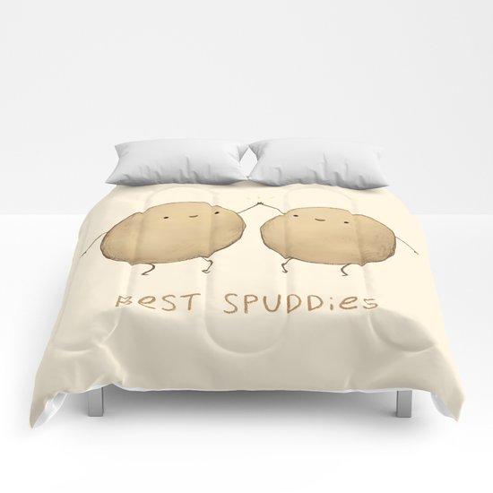 Best Spuddies Comforters by Sophie Corrigan | Society6