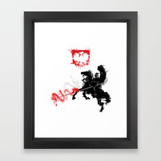 Polish Hussar Framed Art Print