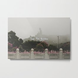 Hong Kong Tian Tan Buddha Metal Print